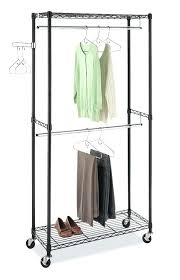 portable hanging closet excellent best heavy duty rolling racks reviews pertaining to portable hanging clothes rack