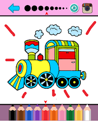Impossible stunt car tracks 3d. Trains Coloring Pages Subway Train Games For Kid On The App Store