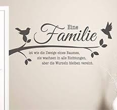 100x48 S Pkm208 Wandtattoo Familie Ist Wie Die Zweige Eines Baumes
