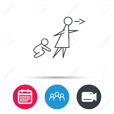 What To Do When Your Babysitting Unattended Baby Icon Babysitting Care Sign Do Not Leave Your