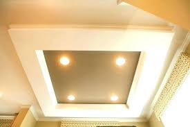 coved ceiling lighting. Ceiling Cove Light Tray With Lighting Fan Kit . Coved