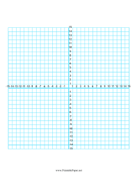 All Four Quadrants On This 30x30 Graph Paper Are Numbered From 1 To