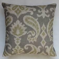 linen throw pillow etsy gray linen throw pillows grey linen throw