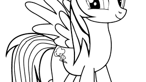Small Picture Fresh Rainbow Dash Coloring Page 84 For Coloring Pages Online with