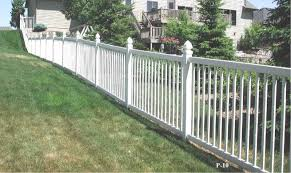 Vinyl solid picket fence Colonial Vinyl Picket Fence Lowes Picket Style Pvc Fences Midwest Fence