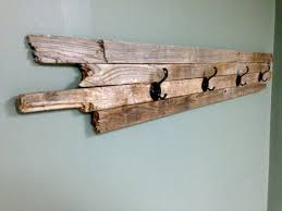 Barn Wood Coat Rack New Barn Wood Coat Hanger Droughtrelieforg