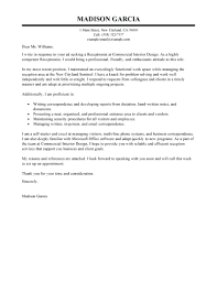 Receptionist Cover Letter With Experience Spa No Bitwrk Co