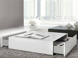 furnitures white gloss coffee table fresh wide designs of white coffee table with storage homesfeed
