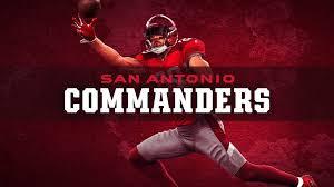 San Antonio Commanders Tickets Single Game Tickets