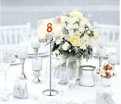 wedding table number frames table number holder gold silver wedding table card holders u shape table