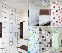 brand new stylish shower curtain blinds in diffe patterns and sizes