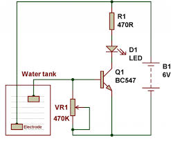 simplest water level indicator x jpg water level indicator circuit diagram using transistor wiring 1024 x 847