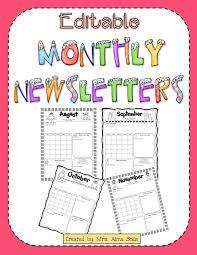 Free Printable School Newsletter Templates Vastuuonminun