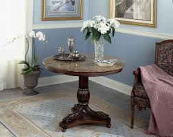 rustic foyer round table trgn decorating ideas design with wooden legs material accessories and furniture bald dining tables dini entrance ceiling lights