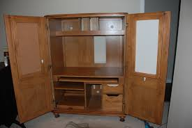 amazing computer armoire for neat home office design outstanding wooden computer armoire ideas for home