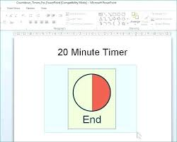 Clock Template For Powerpoint World Time Template Countdown