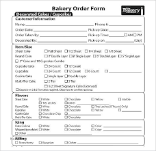 Cupcake Order Form Enchanting Cupcake Order Form Template Supergraficaco