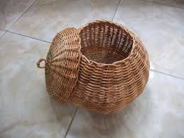 woven basket with lid. DSCF2036 - Round Wicker Basket With Lid We Call The \ Woven