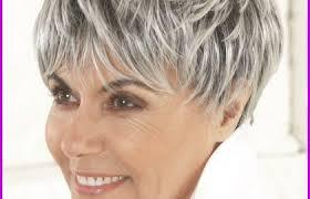 Coiffures Courtes 2018 Cheveux Gris 107060 Coiffure Cheveux