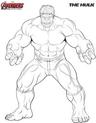 Hulk Kleurplaat Jouwkleurplaten