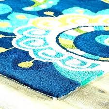 black gray teal rug yellow and area er medium