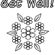 Unique Get Well Coloring Pages Or Get Well Coloring Pages Get Well