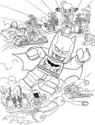 Lego Batman Coloring Pages Kids N Fun Com 16 Of Movie