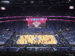 Smoothie King Center Basketball Seating Chart 26 Unmistakable Pelicans Hub Club Tickets