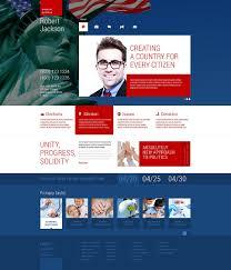 Political Candidate Responsive Wordpress Theme Templates