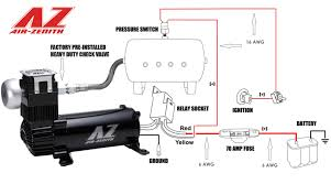 air zenith 2nd generation 200psi ob2 compressor black