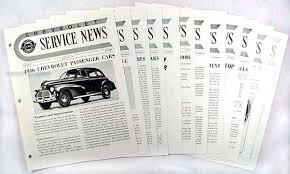 1942 1948 chevrolet car and 42 46 truck wiring diagram manual reprint 1946 Chevy Truck Wiring Harness 1946 chevrolet car & truck service news reprint set of 11 issues 1948 chevy truck wiring harness