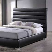 Chessington Faux Leather Bed Frame by Time Living