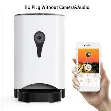 EU <b>4.5L Pet Feeder Wifi</b> Remote Control Fashion Smart Automatic ...