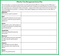 effective time management for high achievers part serene scene  times throughout the behavior modification program please use the blank action plan form to record your personalized entries