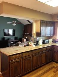 Chalk Paint Kitchen Using Chalk Paint To Refinish Kitchen Cabinets Wilker Dos