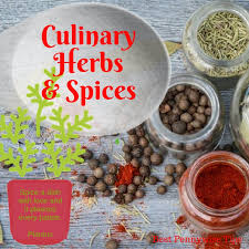 How To Use Herbs And Spices Chart Culinary Herbs And Spices Making Your Food Mmm Good