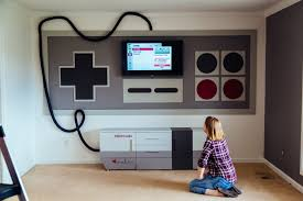 rec room furniture and games. Video Game Room Furniture. Nintendo Themed Home Theater A Mom Made Rec Furniture And Games