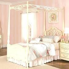 twin wood canopy bed – khademin.info