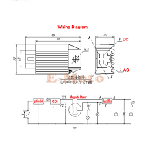 12v voltage regulator rectifier gy6 qmb139 4pin 50cc 150cc scooter 5 pin rectifier wiring diagram at 4 Pin Voltage Regulator Wiring Diagram