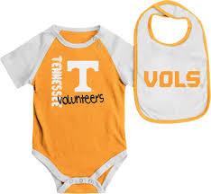 infant tennessee volunteers vols ut onesie and team color bib set com