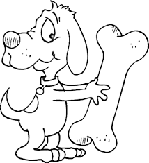 Small Picture Enjoyable Bone Coloring Page Dog Bone Coloring Page Cecilymae