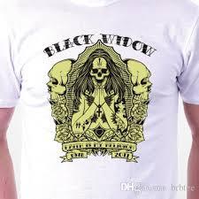 Black Widow T Shirt Skulls Witch Death Goth Cult Mens Ladies Birthday Gift Idea Ts Shirts A Team Shirts From Yubin04 14 32 Dhgate Com