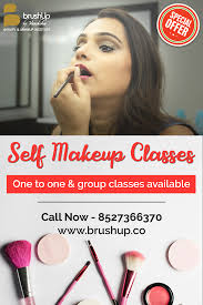book our 5 day self makeup session and get a
