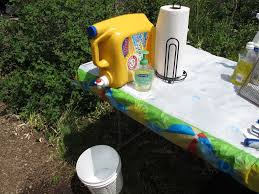 build a hand washing station