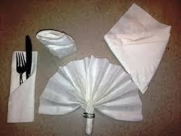 Paper Napkin Folding Flower Folding Paper Napkins Into Flowers Zombiebit