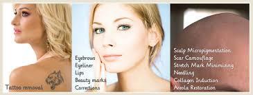 permanent makeup microblade eyebrows