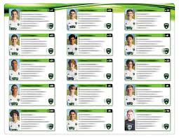 soccer team brochure template brochure soccer team info sheet on behance