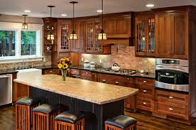 dark oak kitchen cabinets odelia design