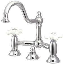 bridge bathroom faucet. chesapeake bathroom bridge faucet with white porcelain cross handles t