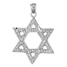 sterling silver 925 star of david pendant sterling silver pendants at jewelsobsession com